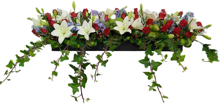 arreglo floral grande multifloral