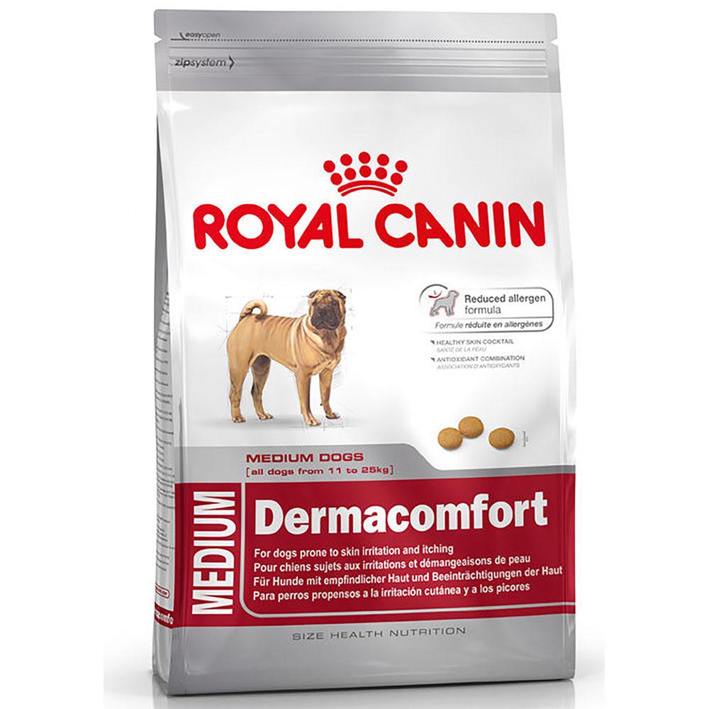 Alimento Perro Royal Canin Medium Dermacomfort